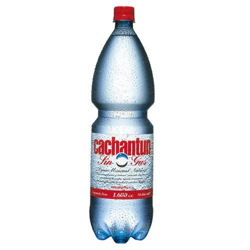 Cachatun Agua mineral sin gas 1600cc