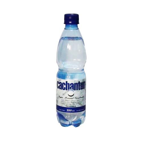Cachatun Agua mineral con gas 500cc