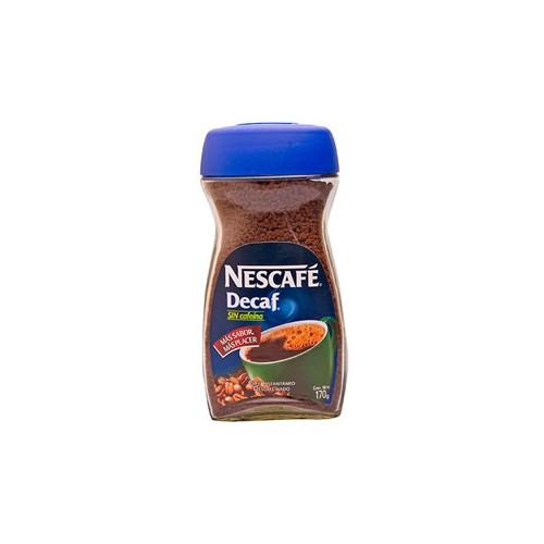 Nescafe Decaf sin cafeina 170 g.