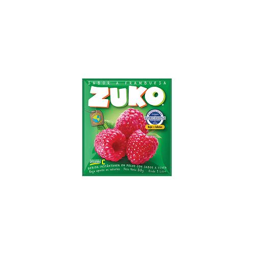 Zuko sabor frambuesa en polvo