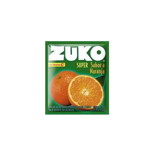 Zuko sabor naranja en polvo