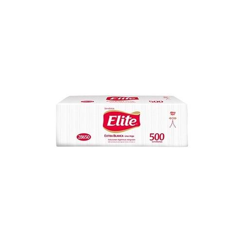 Elite 500 servilletas extra blanca