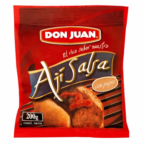 Don Juan Ají Salsa con pepas